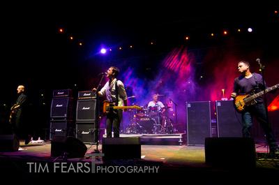 Tim Fears Photography: FYFfest2012 &emdash; Tom Capone, Walter Schreifels, Alan Cage, Sergio Vega - Quicksand